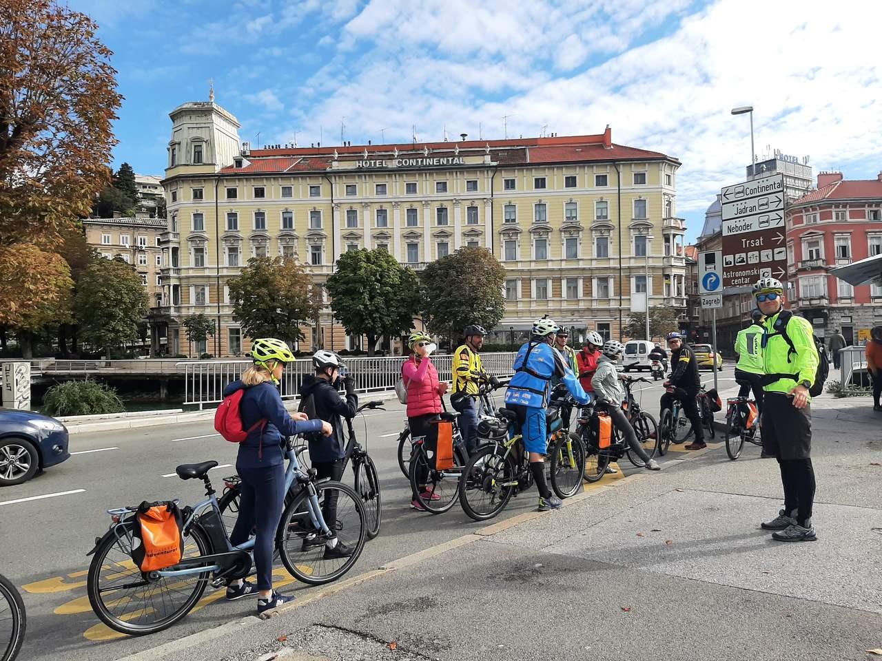 E-bike tura industrijskom baštinom grada Rijeke