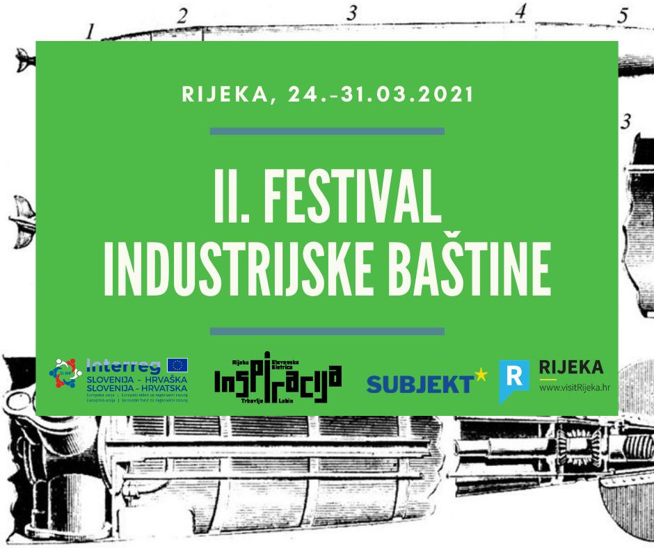 II. Festival industrijske baštine